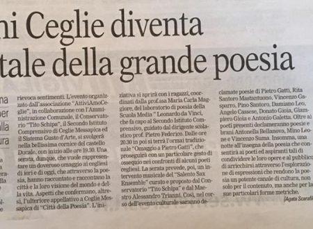 NOTTE DELLA POESIA  CASTELLO DUCALE
